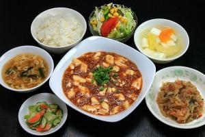 Cランチ 麻婆豆腐 (マーボー豆腐)